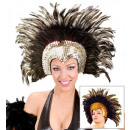wholesale Toys: moulin rouge feathered headdress 2 colors ...