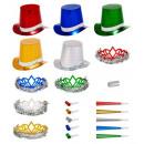 wholesale Toys: holographic multicolor las vegas party kit , ...