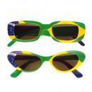 grossiste Jouets: lunettes brazil 2 modèles ass. - pour adultes /