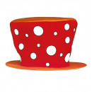 wholesale Toys: clown hat , Hat size: 0 - for adults / unisex
