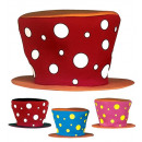 wholesale Toys: maxi hat 4 color combinations assorted, Hat size