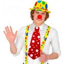 wholesale Toys: clown necktie , Hat size: 0 - for adults / unise