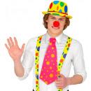 wholesale Toys: maxi necktie 3 color combinations assorted, Hat