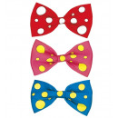 wholesale Toys: maxi bow tie 3 color combinations assorted, Hat