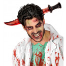 wholesale Toys: bloody knife through head , Hat size: 0 - for ad