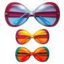 wholesale Toys: sugar babe glasses 3 colors assorted, Hat size: