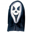 wholesale Toys: hooded ghost mask with see-through net eyes eva,