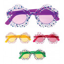 wholesale Toys: flower glasses with colored lenses - 4 colors as
