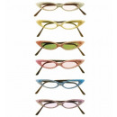 grossiste Jouets: glitter lunettes tendance 6 couleurs ass. - pour