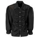wholesale Toys: black ruffle shirt for medieval, ...
