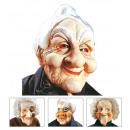 oude mannen en vrouwen masker met pruik 4 stijle