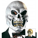 wholesale Toys: skull mask gold & silver assorted, Hat size: 0 -