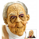 wholesale Toys: old woman & old man mask with wig , Hat size: 0 -