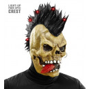 wholesale Toys: skull mask with fiber optic light-up crest , Hat
