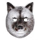 wolf mask   plastic - for children / unisex
