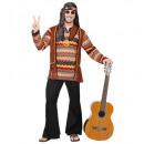grossiste Jouets: hippie (chemise avec gilet, pantalon, serre-tête