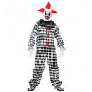 grossiste Jouets: clown de cirque (salopette), taille: (XL), taill