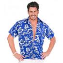 grossiste Jouets: Chemise bleue hawaïen , Taille: (XL) - pour les h