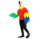 Papagáj  (jelmez, maszk, láb), Méret: (S) - a