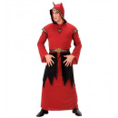 wholesale Curtains & Drapery: satan (hooded robe, belt with drapes, necklace w