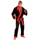 kick boxer  (coat, pants, belt, headband, boxing