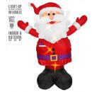aufblasbarer aufblasbarer Weihnachtsmann mit Luft