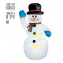 wholesale Gifts & Stationery: light-up airblown inflatable snowman 150 cm - in