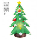 wholesale Decoration: light-up airblown inflatable christmas tree 183