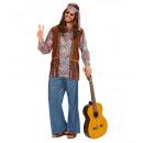 ingrosso Moda e tradizione:  Hippie uomo  psichedelico   (camicia con ...