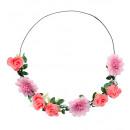 groothandel Woondecoratie: Roze bloem hoofdband - voor vrouwen