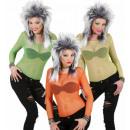 neon visnet shirts 3 kleuren assortiment (groen,