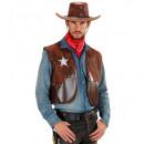 groothandel Home & Living:  Cowboy vesten ,  Afmeting: (XL) - voor mannen