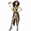 Gothic queen arany (ruha), Méret: (M) - a nők ...