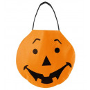 trick or treat pumpkin handbag Filz - 27x24 cm