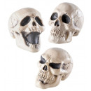 wholesale Gifts & Stationery:  skulls  display  box of 12 - 3 3 styles assorted -