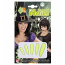 wholesale Ironmongery:  glow in the dark  witch nails  - for women