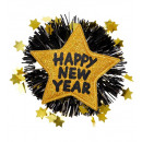 wholesale Toys:  gold happy new  year brooch  - for adults / unise
