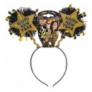 wholesale Toys:  gold happy new  year head bopper  -  for women