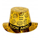 wholesale Toys:  gold buon anno  top hat  - for adults / unisex