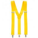 Großhandel Dekoration:  Gelbe Klammern  -  für Erwachsene / unisex