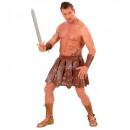 Il Gladiatore  (gonna leatherlook e bracciali) -