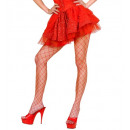 wholesale Skirts:  red sequin & lace  skirt with sewn-in petticoat ,