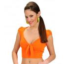 groothandel Woondecoratie: Oranje lint top , Maat: (M) - voor vrouwen