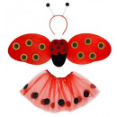 wholesale Licensed Products: ladybug dress-up set (tutu, wings, antennas) -