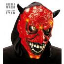 grossiste Jouets: Capuchon light-up masque de diable - pour les ho