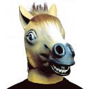 Maschera cavallo con i capelli peluche - per gli