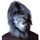 wholesale Toys: gorilla mask with plush hair - for adults / uni