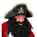wholesale Toys: deluxe pirate hat with headband , Hat size: 0 -
