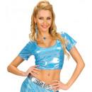 hurtownia Zabawki:  Blue  holograficzny  tkaniny top , ...