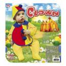 wholesale Headgear:  clown  (bonnet &  bib) - for children / unisex